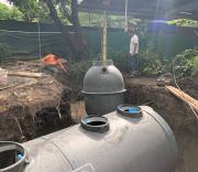 บริการติดตั้งถังบำบัดน้ำเสีย ถังเก็บน้ำ ถังดักไขมัน
