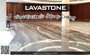 งานพื้น เคลือบพื้น เคลือบผนัง ลาวาสโตน (LAVASTONE) งานเคลือบพื้น ระบบ silicate