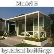 รับสร้างร้านค้าขนาดเล็ก #บ้านขนาดเล็ก #สำนักงานขนาดเล็ก #โรงเก็บของ #รั้ว