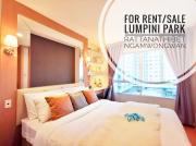 ((ขาย/ให้เช่า)) ลุมพินี พาร์ค รัตนาธิเบศร์-งามวงศ์วาน ขนาด 34 ตรม. ห้อง Premium Zone แต่งสวยอลังดั่งต้องมนต์สะกด พร้อมเครื่องซักผ้าฝาหน้า