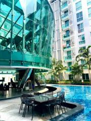 Condo-for-sale-in-Central-Pattaya,-City-Center-Residence,-25-sqm.-Price-for-sale-1.55-million-baht