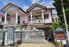 ขายบ้านเดี่ยว บ้านสถาพร คลอง 3 ถนนรังสิต-นครนายก อ.ธัญบุรี จ.ปทุมธานี